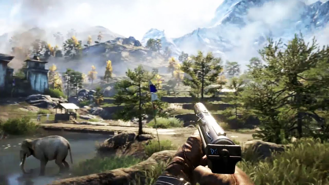 ps4 far cry 4 gameplay walkthrough e3 2014 youtube. Black Bedroom Furniture Sets. Home Design Ideas