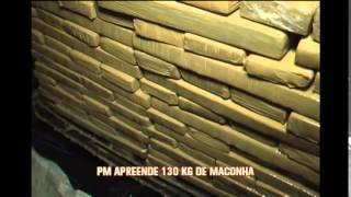 Militares apreendem 130 kg de maconha em Montes Claros