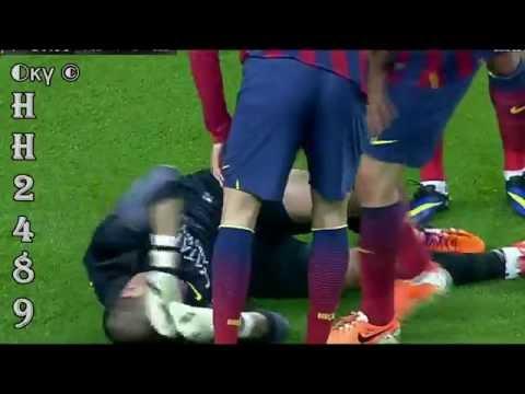 Barcelona Vs Celta 3-0 2014 → Lesión Victor VALDES Injury ← Barcelona 3-0 Celta Vigo ~ 26/03/2014
