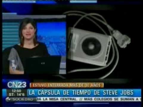 La capsula del tiempo de Steve Jobs