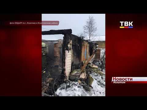 Три человека погибли во время пожара в садовом обществе «Березка» Искитима