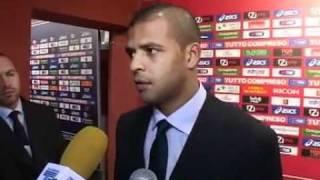 21/11/2010 - Campionato - Genoa-Juventus 0-2, intervista a Felipe Melo