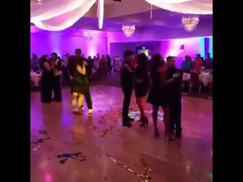 Kaylin sweet 16 court dance and father daughter dance
