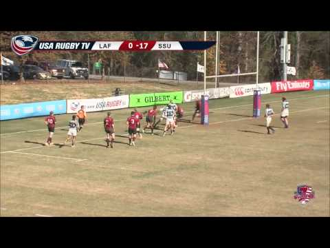 2013 USA Rugby College 7s National Championship: Lafayette vs Sonoma State