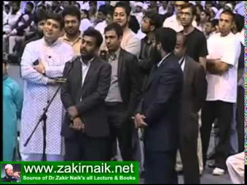 Zakir Naik Q&A -  A man pointing a mistake in Islam -  (zakirnaik.net)