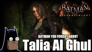 Batman You Forgot About Talia Al Ghul #13 (Batman Arkham