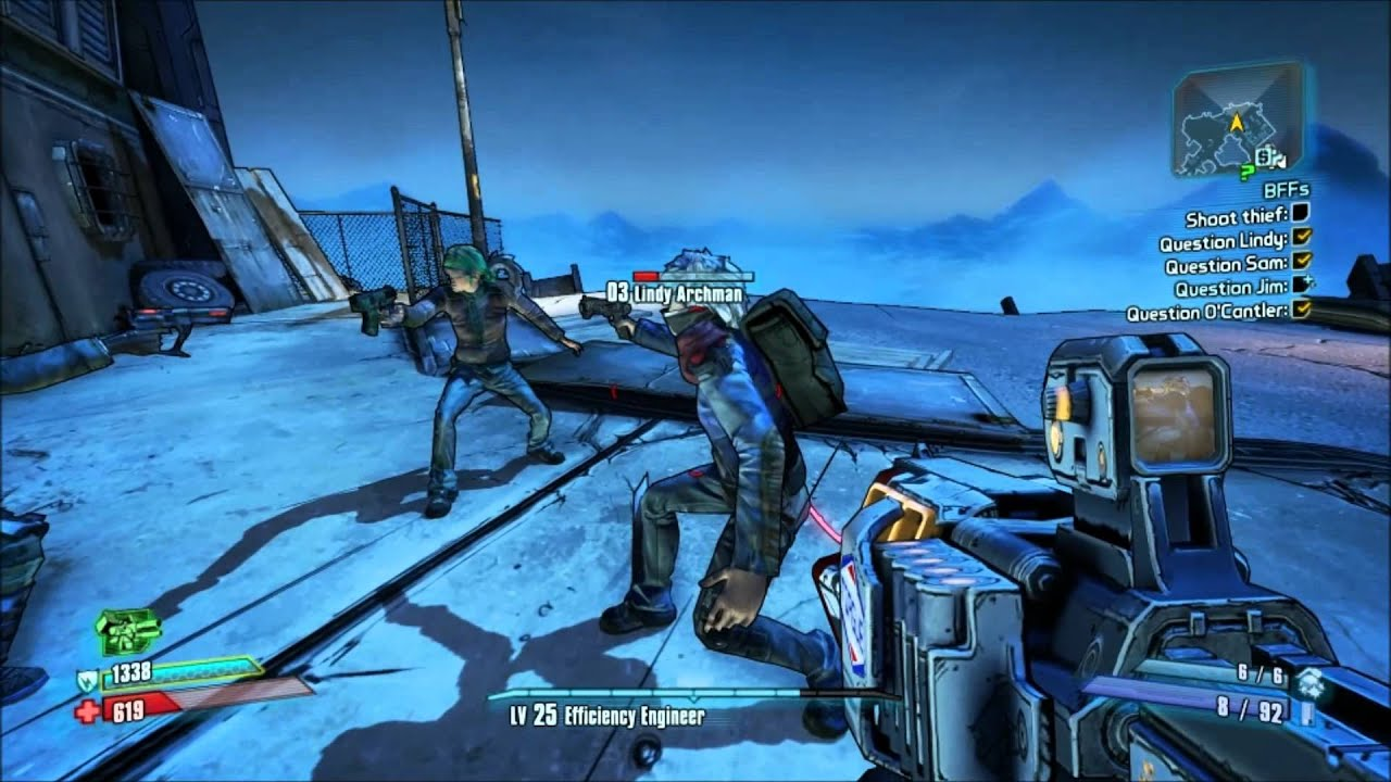 Borderlands 2 - Sanctuary BFFs - who is the thief? - YouTube Borderlands 2 Bffs