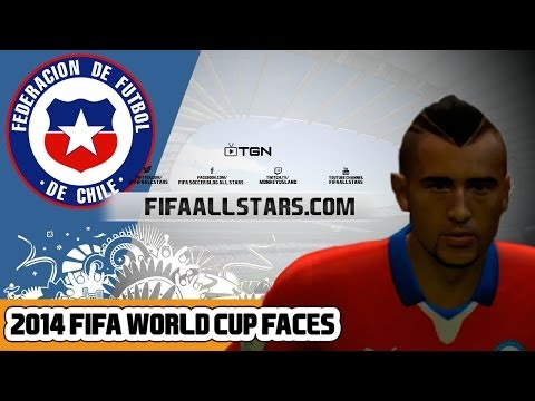 EA 2014 FIFA World Cup Chile Faces - FIFAALLSTARS.COM
