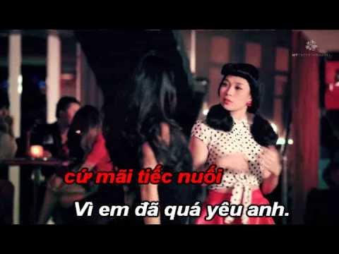 vi em qua yeu anh - karaoke (full beat) my tam