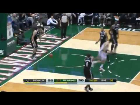 Henson's SICK Putback   Brooklyn Nets vs Milwaukee Bucks   December 7  2013   NBA 2013 14 Season
