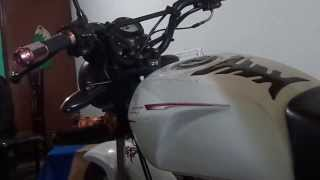 Instalación de dispositivo USB en una moto