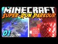 Minecraft Parkour - SUPER RUN! Pt. 1 w/ AntVenom!