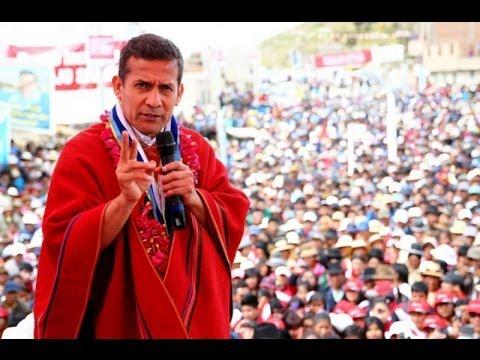 Ollanta Humala llamó ingrato a César Villanueva