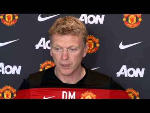 Manchester United's David Moyes: 'I'm driven to succeed'