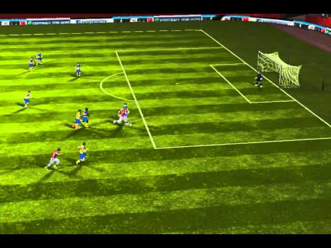 FIFA 14 iPhone/iPad - Arsenal vs. Everton