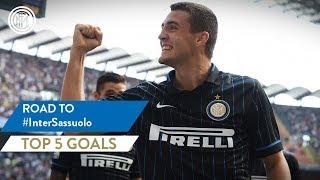 INTER vs SASSUOLO | TOP 5 GOALS | Icardi, Rafinha, Kovacic and more...!
