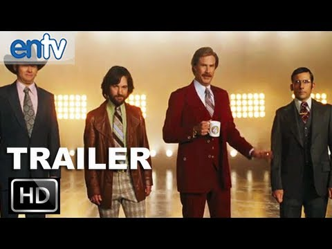 Anchorman 2 Official Teaser Trailer [HD]: Ron Burgundy Returns With The News Crew 2013: ENTV