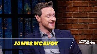 James McAvoy Really Admires Samuel L. Jackson