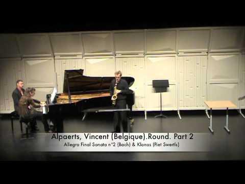 Alpaerts, Vincent (Belgique).1st Round. Part 2