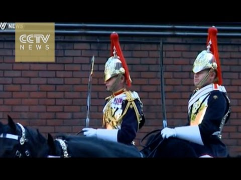 UK's Cavalry Mounted Regiment set to welcome Chinese President Xi Jinping