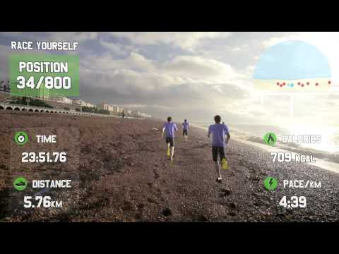 GOOGLE GLASS FOR FITNESS - RaceYourself - Virtual Reality Fitness Motivation