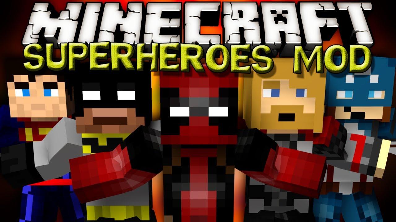 minecraft super hero mod download