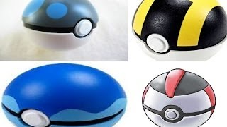 Top 10 Best pokeballs of all time list!
