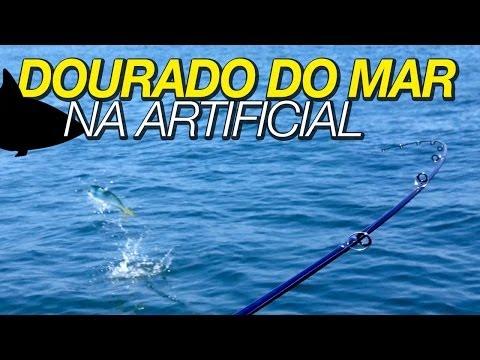 Dourado do mar na artificial @ Perequê/Guarujá 01/02/2013 (HD)