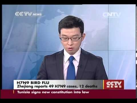 Zhejiang reports 49 H7N9 cases  12 deaths