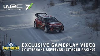 WRC 7 - Sweden Gameplay