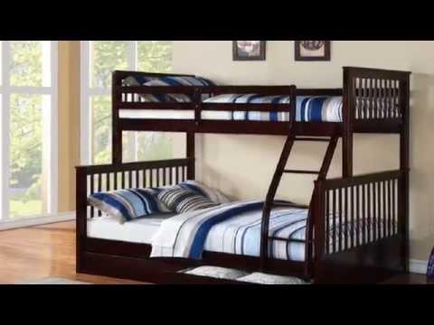 Một số mẫu giường tầng trẻ em giá rẻ nhất được láp ráp thực tế 2014