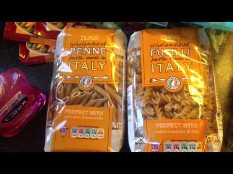 Food Haul - zakupy żywnościowe TESCO UK