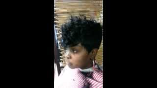 All comments on Short cut quick weave curly top - YouTube