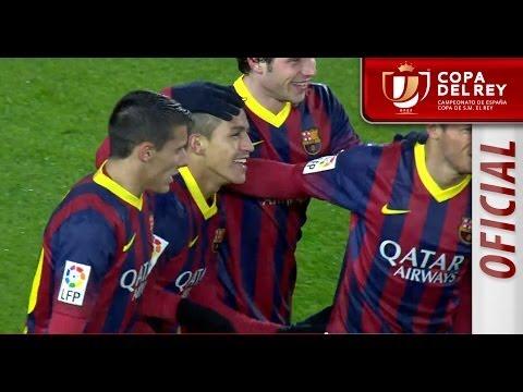 Resumen de FC Barcelona (5-1) Levante UD - HD Copa del Rey