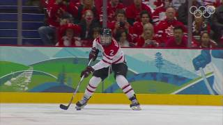 Team Canada Highlights Women's Ice Hockey Vancouver