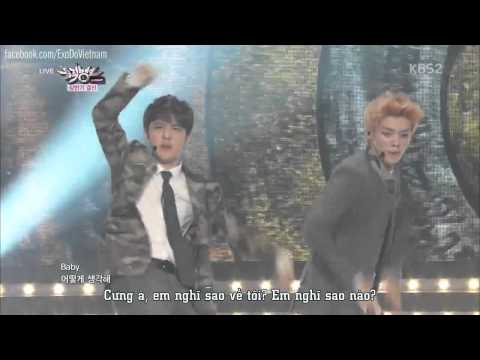 [Vietsub] Why So Serious - EXO 130705 Music Bank