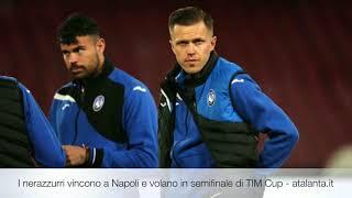 I nerazzurri vincono a Napoli e volano in semifinale di TIM Cup