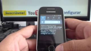 Como Recuperar Contactos Desde Sd Android Samsung Galaxy Y