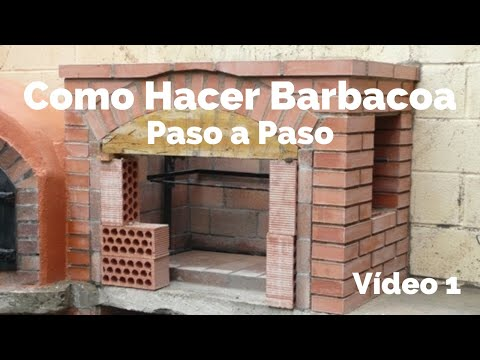 Construcci n de barbacoa 1 youtube - Como construir una barbacoa de obra ...