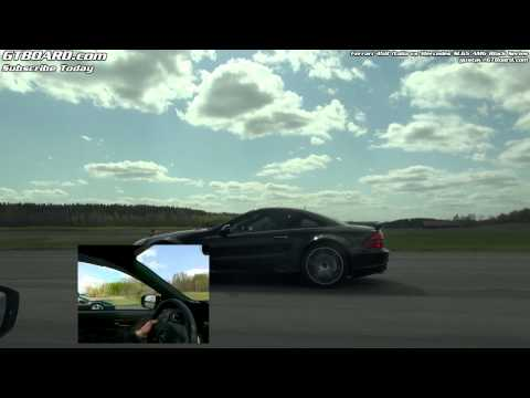 Sophies's Ferrari 458 Italia vs Mercedes SL65 AMG Black Series