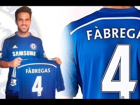 [Official] Cesc Fàbregas Signs For Chelsea
