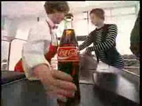 TV commercial for coke &quot;day in the life of a coke bottle&quot;