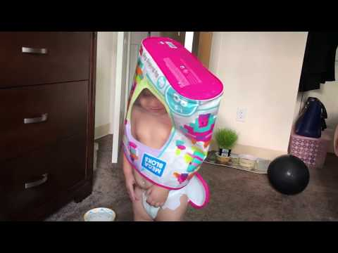 Funny Cute Toddler Girl