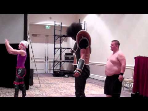 Cosplay Wrestling Federation Heavy Weight Championships Fanime 2014 Part 2