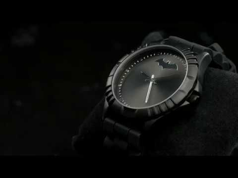 Batman Watch with Rotating Bezel