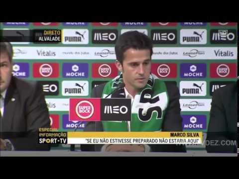 Apresentacao de Marco Silva no Sporting - 21/05/2014