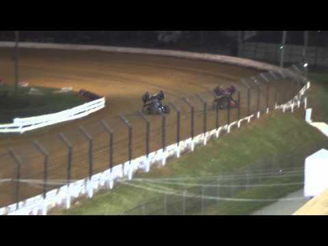 Williams Grove Speedway 410 Sprint Car and Super Sportsman Highlights 4-18-14