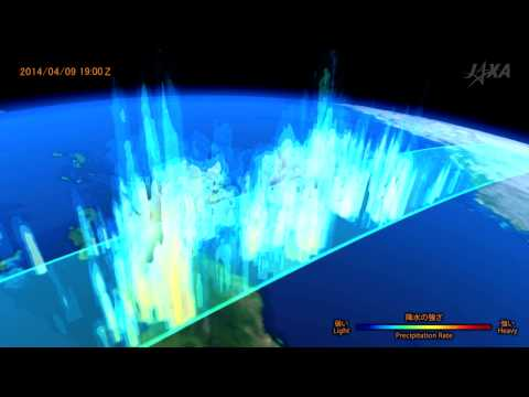 オーストラリア北東部に近づくサイクロン「ITA」の観測映像 / Cyclone