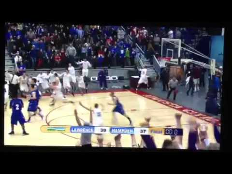 Hampden Academy (Maine) Buzzer Beater to Win Class A Easter