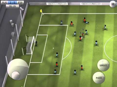 Stickman Soccer - Russia 3 / Spain 0